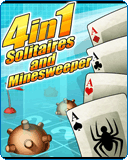 4 in 1: Solitares and Mineswpeeper
